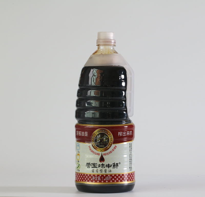 Soy sauce with soy sauce 1.68l